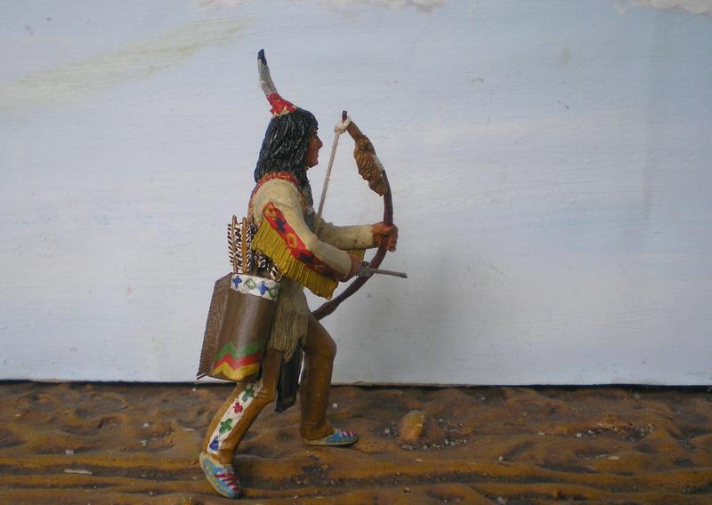 Bemalungen, Umbauten, Modellierungen – neue Indianer für meine Dioramen - Seite 12 116g4b15