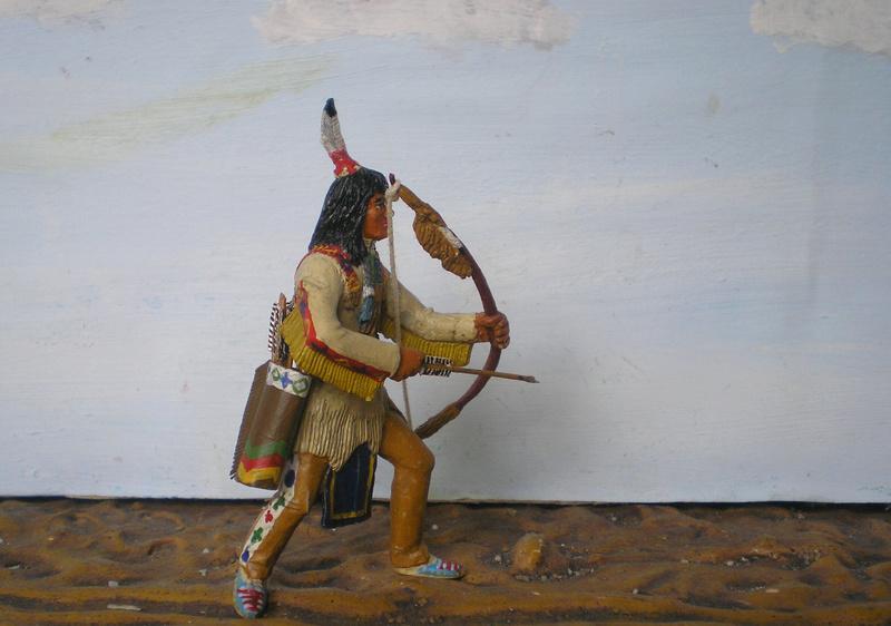 Bemalungen, Umbauten, Modellierungen – neue Indianer für meine Dioramen - Seite 12 116g4b19