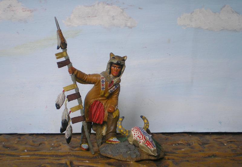 Bemalungen, Umbauten, Modellierungen – neue Indianer für meine Dioramen - Seite 12 134f3_10