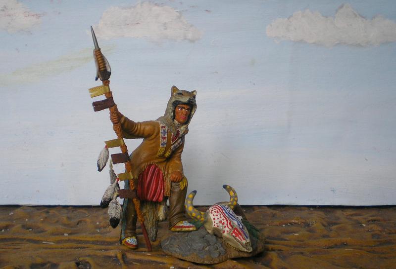 Bemalungen, Umbauten, Modellierungen – neue Indianer für meine Dioramen - Seite 12 134f4_10