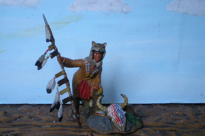 Bemalungen, Umbauten, Modellierungen – neue Indianer für meine Dioramen - Seite 12 134f5a10