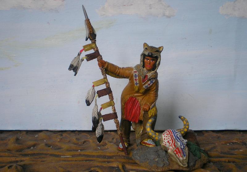 Bemalungen, Umbauten, Modellierungen – neue Indianer für meine Dioramen - Seite 12 134f5b10