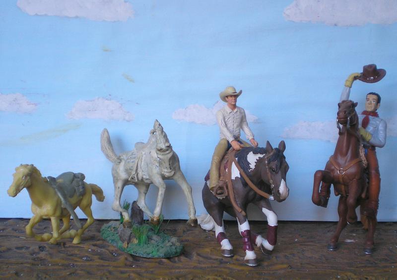 Cowboy zu Pferd mit Lasso - Umbau in der Figurengröße 7 cm - Seite 2 139j1_10