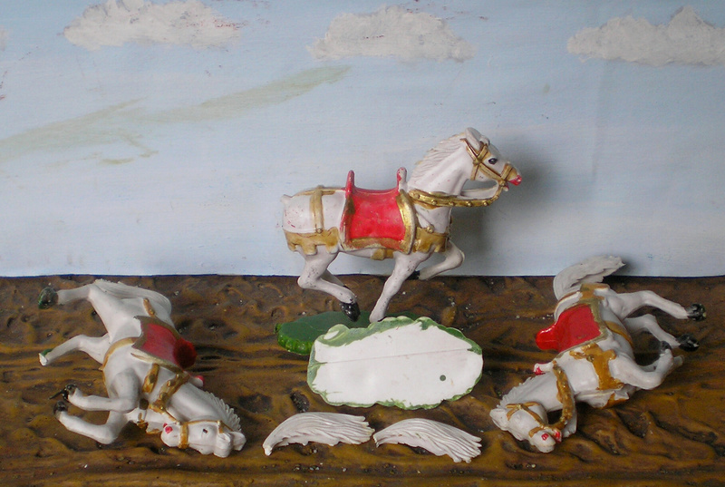 Cowboy zu Pferd mit Lasso - Umbau in der Figurengröße 7 cm - Seite 2 139j2a10