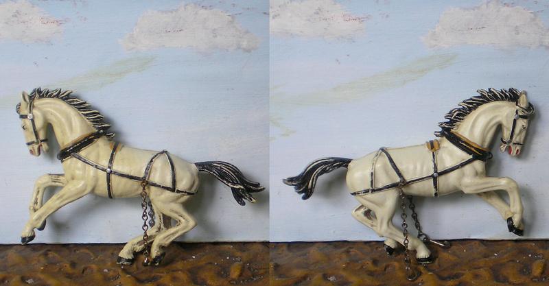 Meine Pferdesammlung - eigene Bemalungen und Umbauten in 54 bis 90 mm 171f1a10