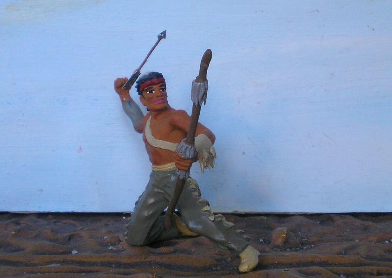 Bemalungen, Umbauten, Modellierungen – neue Indianer für meine Dioramen - Seite 12 180i5e11