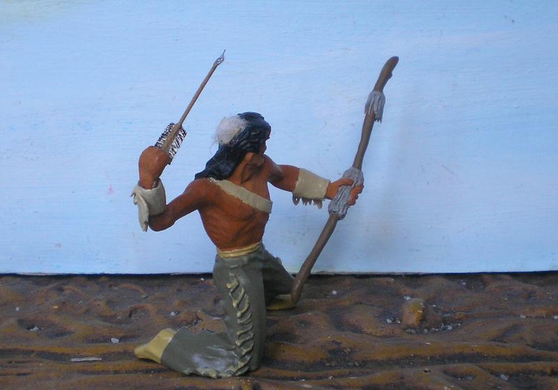 Bemalungen, Umbauten, Modellierungen – neue Indianer für meine Dioramen - Seite 12 180i5e18