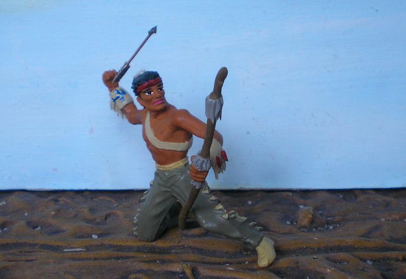 Bemalungen, Umbauten, Modellierungen – neue Indianer für meine Dioramen - Seite 12 180i5e19