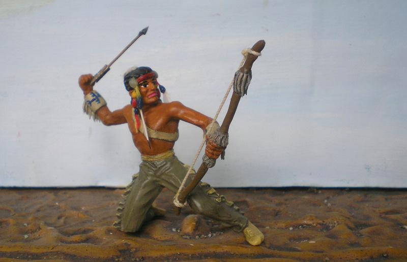 Bemalungen, Umbauten, Modellierungen – neue Indianer für meine Dioramen - Seite 12 180i5e20