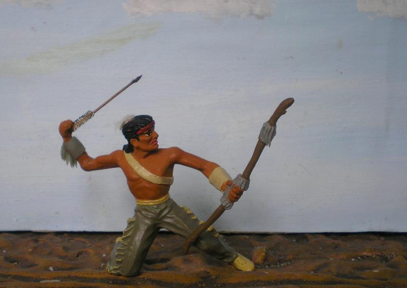 Bemalungen, Umbauten, Modellierungen – neue Indianer für meine Dioramen - Seite 12 180i5e21