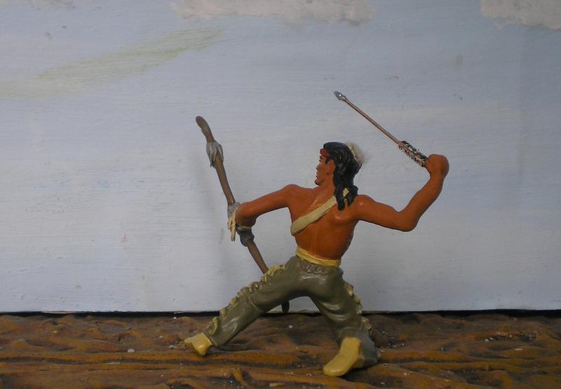 Bemalungen, Umbauten, Modellierungen – neue Indianer für meine Dioramen - Seite 12 180i5e22