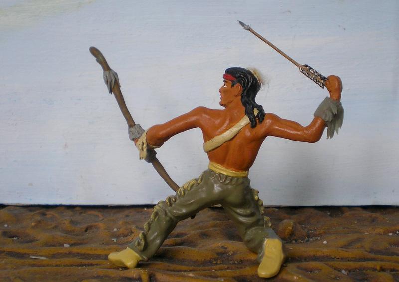 Bemalungen, Umbauten, Modellierungen – neue Indianer für meine Dioramen - Seite 12 180i5e23