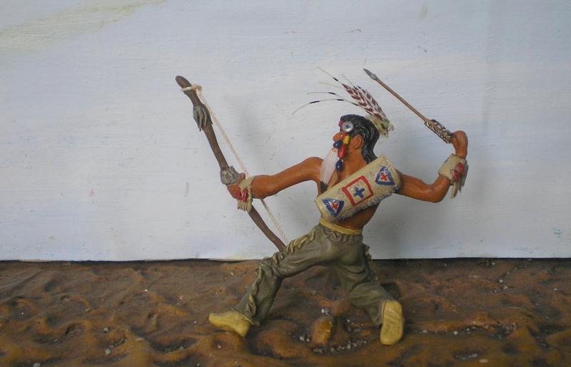 Bemalungen, Umbauten, Modellierungen – neue Indianer für meine Dioramen - Seite 12 180i5f15