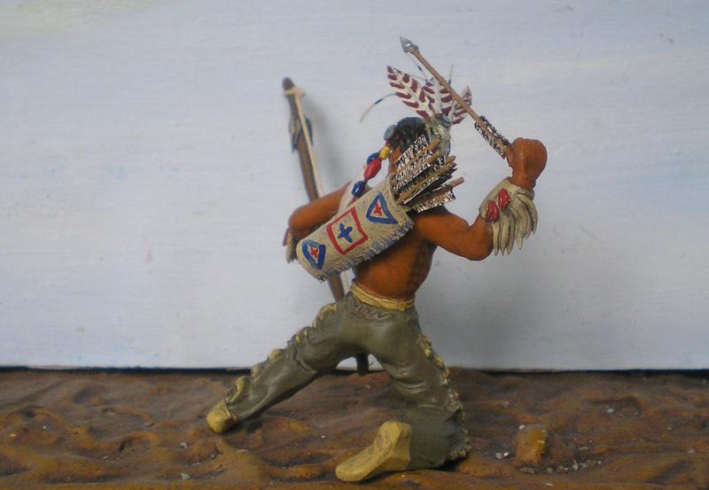 Bemalungen, Umbauten, Modellierungen – neue Indianer für meine Dioramen - Seite 12 180i5f17