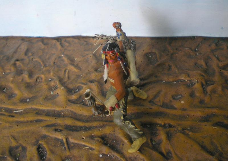 Bemalungen, Umbauten, Modellierungen – neue Indianer für meine Dioramen - Seite 12 180i5f18