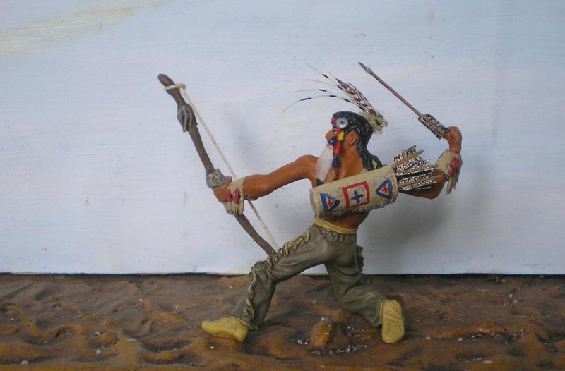 Bemalungen, Umbauten, Modellierungen – neue Indianer für meine Dioramen - Seite 12 180i5f19