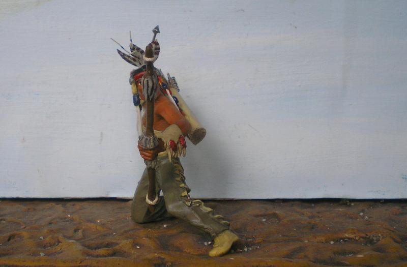 Bemalungen, Umbauten, Modellierungen – neue Indianer für meine Dioramen - Seite 12 180i5f20