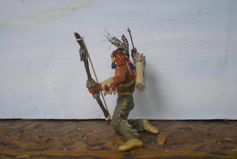 Bemalungen, Umbauten, Modellierungen – neue Indianer für meine Dioramen - Seite 12 180i5f21
