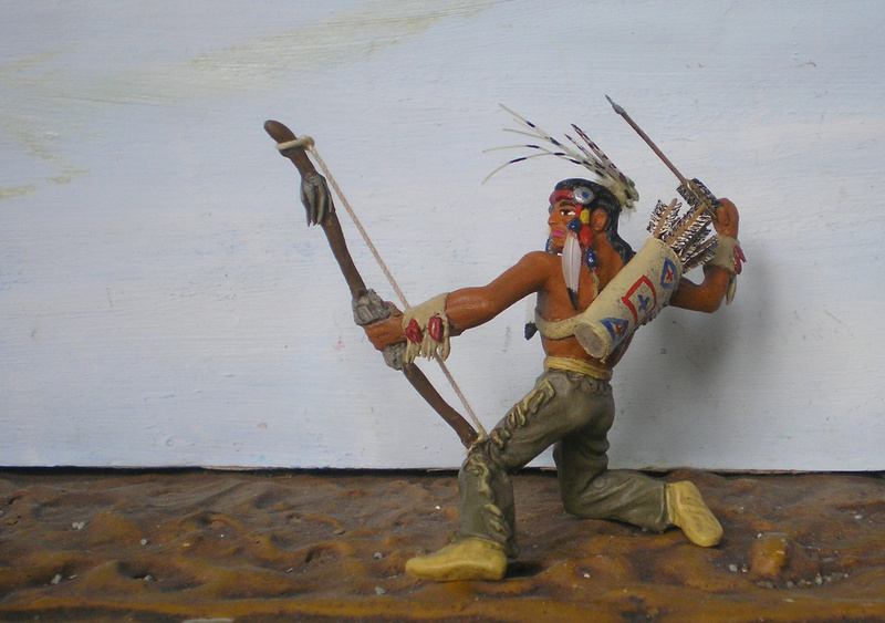 Bemalungen, Umbauten, Modellierungen – neue Indianer für meine Dioramen - Seite 12 180i5f22