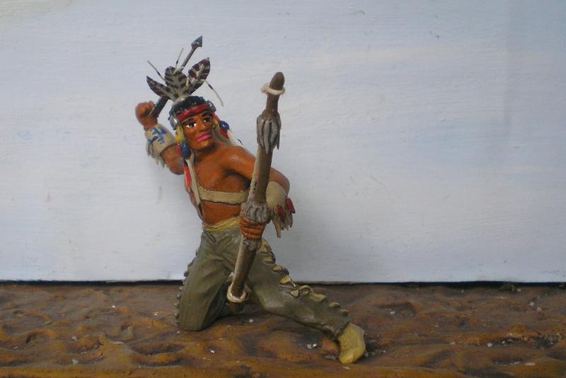 Bemalungen, Umbauten, Modellierungen – neue Indianer für meine Dioramen - Seite 12 180i5f23