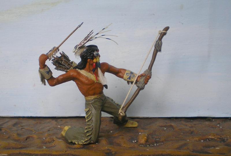 Bemalungen, Umbauten, Modellierungen – neue Indianer für meine Dioramen - Seite 12 180i5f24