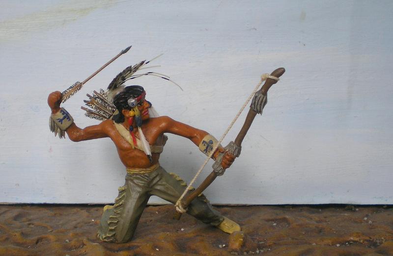 Bemalungen, Umbauten, Modellierungen – neue Indianer für meine Dioramen - Seite 12 180i5f25