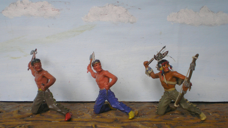 Bemalungen, Umbauten, Modellierungen – neue Indianer für meine Dioramen - Seite 12 180i6b10
