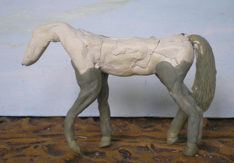 Bemalungen, Umbauten, Modellierungen - neue Tiere für meine Dioramen - Seite 4 206b2f10