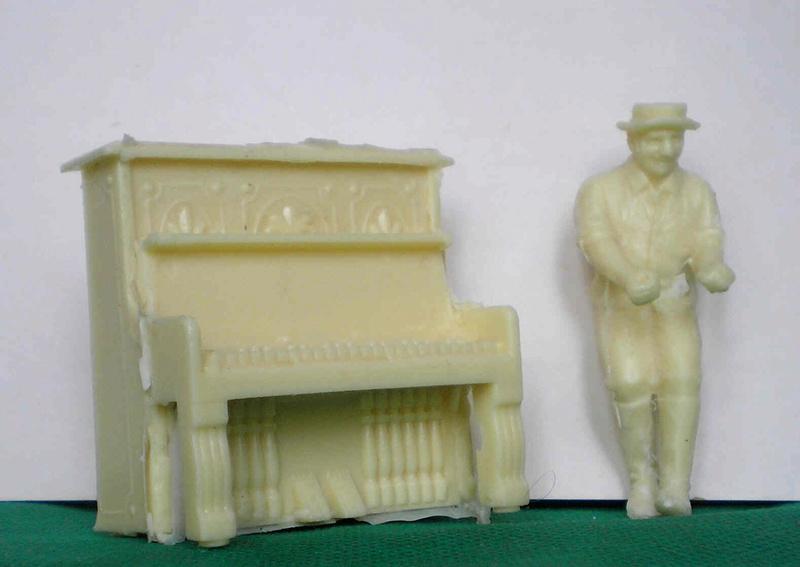 Möbel, Geschirr und ähnliche Kleinteile zur Figurengröße 7 cm 218a_z10