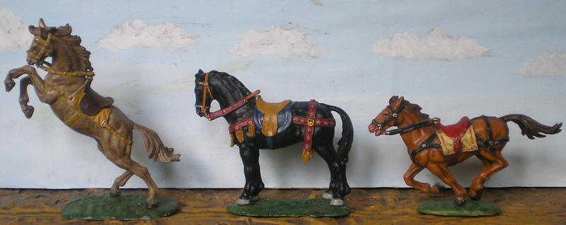 Meine Pferdesammlung - eigene Bemalungen und Umbauten in 54 bis 90 mm 233d2d11