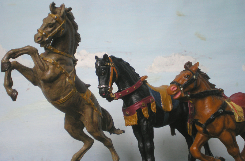 Meine Pferdesammlung - eigene Bemalungen und Umbauten in 54 bis 90 mm 233d2e10