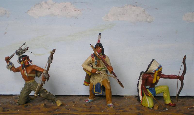 Bemalungen, Umbauten, Modellierungen – neue Indianer für meine Dioramen - Seite 12 Indian10