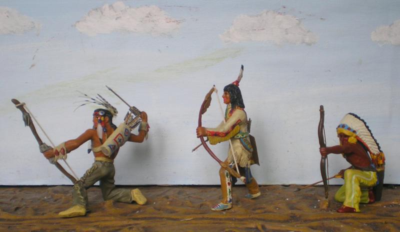 Bemalungen, Umbauten, Modellierungen – neue Indianer für meine Dioramen - Seite 12 Indian11