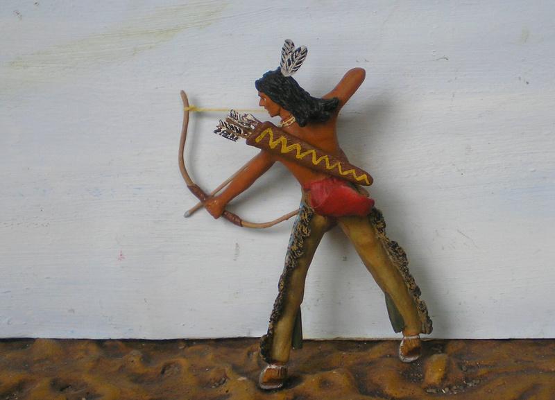 Bemalungen, Umbauten, Modellierungen – neue Indianer für meine Dioramen - Seite 12 Indian13