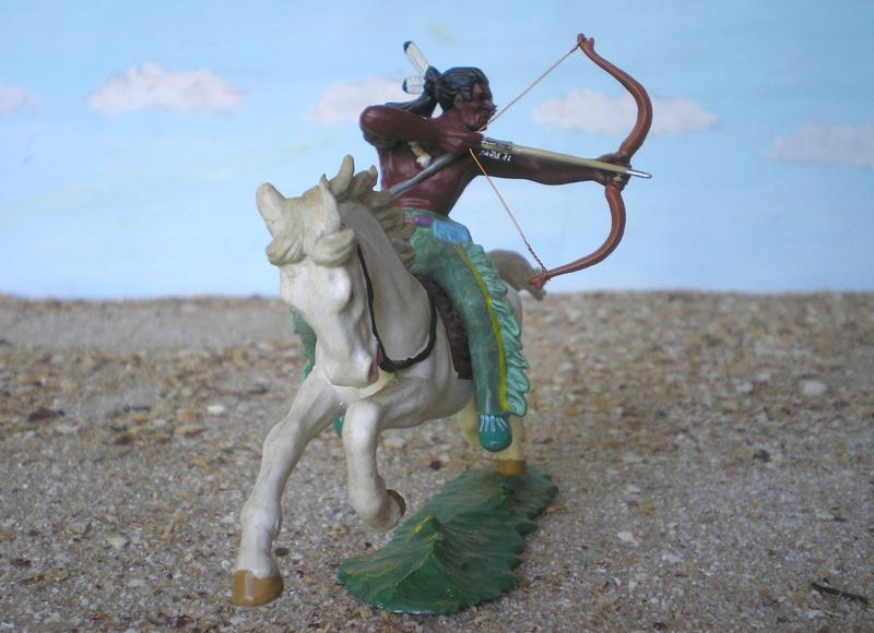 Bemalungen, Umbauten, Modellierungen – neue Indianer für meine Dioramen - Seite 12 Indian15