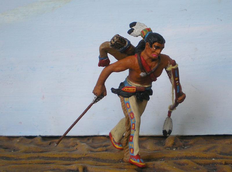 Bemalungen, Umbauten, Modellierungen – neue Indianer für meine Dioramen - Seite 12 Indian16