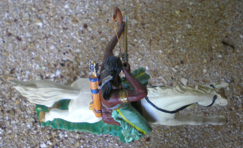 Bemalungen, Umbauten, Modellierungen – neue Indianer für meine Dioramen - Seite 12 Indian18