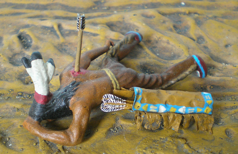Bemalungen, Umbauten, Modellierungen – neue Indianer für meine Dioramen - Seite 12 Indian19