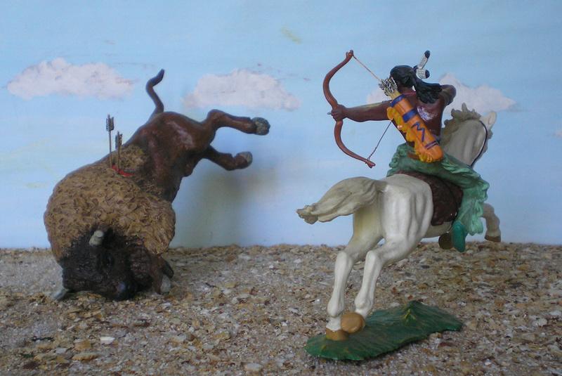 Bemalungen, Umbauten, Modellierungen – neue Indianer für meine Dioramen - Seite 12 Indian23