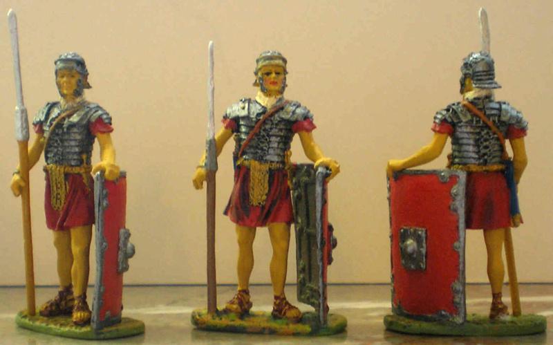 Bemalung von Römern Pb250012