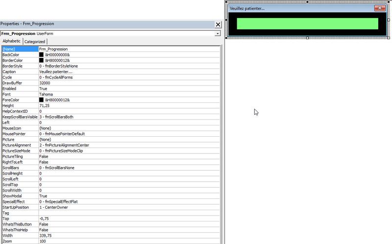 Créer une progress barre dans CATIA Pb_for10