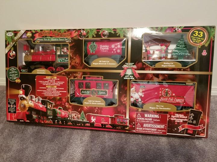Christmas Train Has Arrived 81262210
