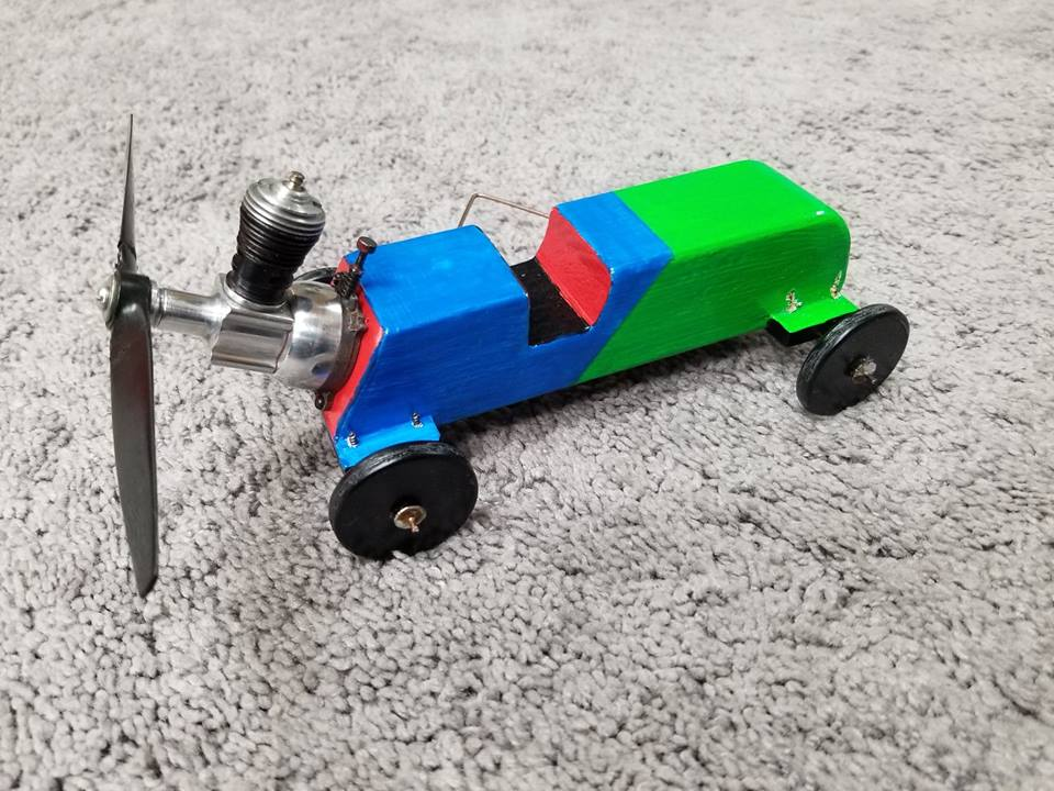 Homemade Tether Car  C310