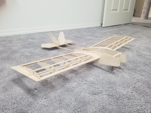 1/2a Stealth Sport RC Plane Ss210