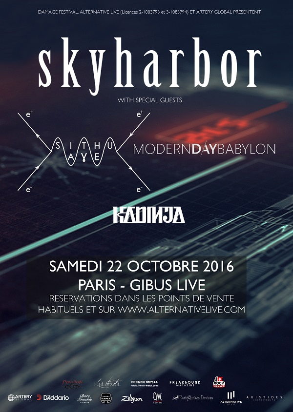 Skyharbor @ Paris [2210/2016] Skyhar10
