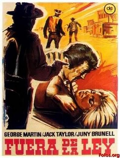 Billy le Kid ( Fuera de la ley ) .1963 . Leon Klimovsky. 1964-f10