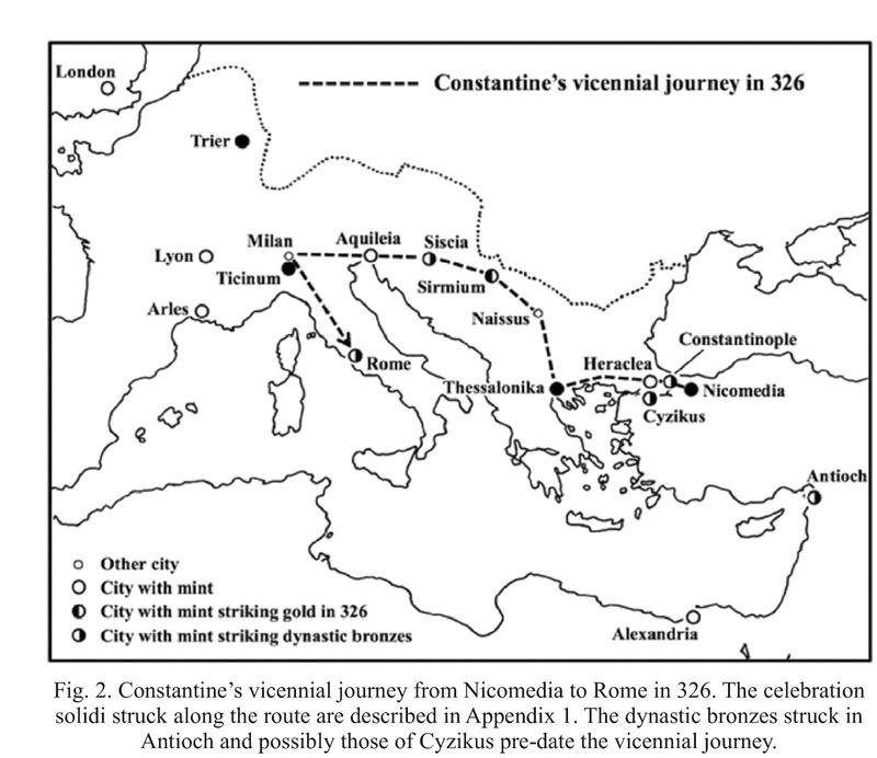 Le monnayage des vicennalia de 326 et la mort de Crispus Img_2122