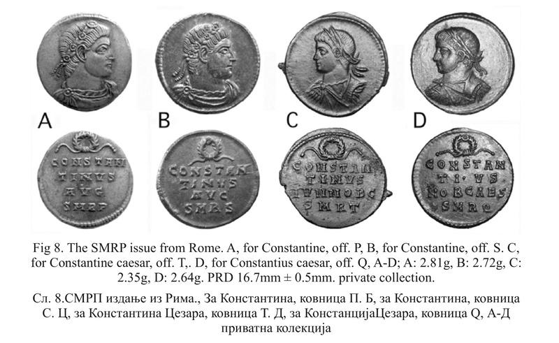 Le monnayage des vicennalia de 326 et la mort de Crispus Smrp10