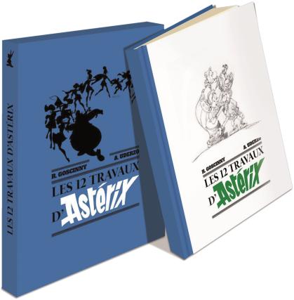 Les XII Travaux d'Asterix Couv-h10