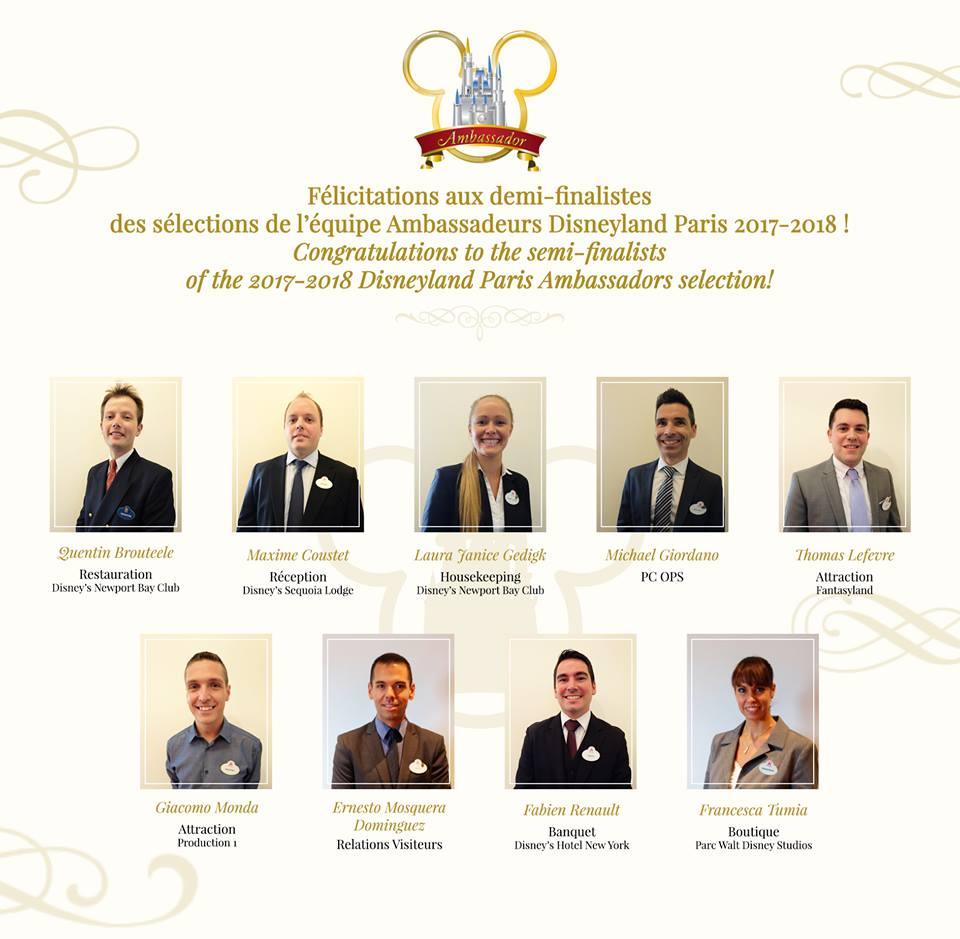 Ambasciatori Disneyland Paris 2017 - 2018 00123